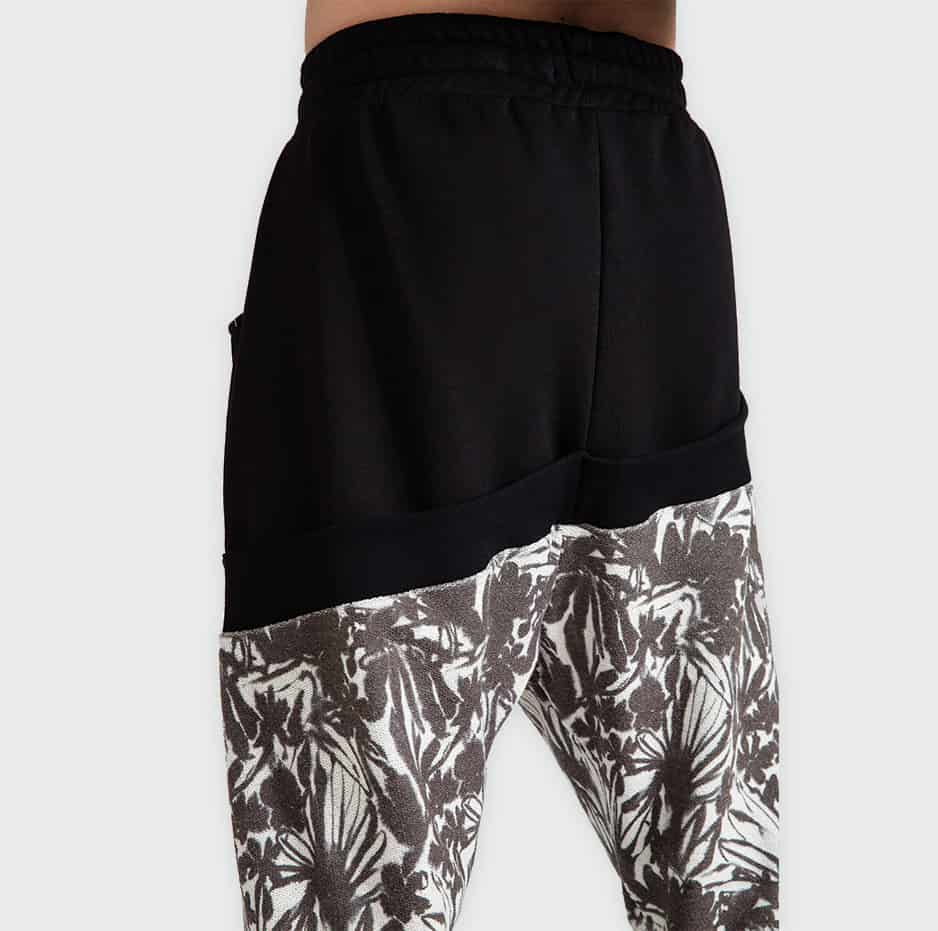 All over printed pants