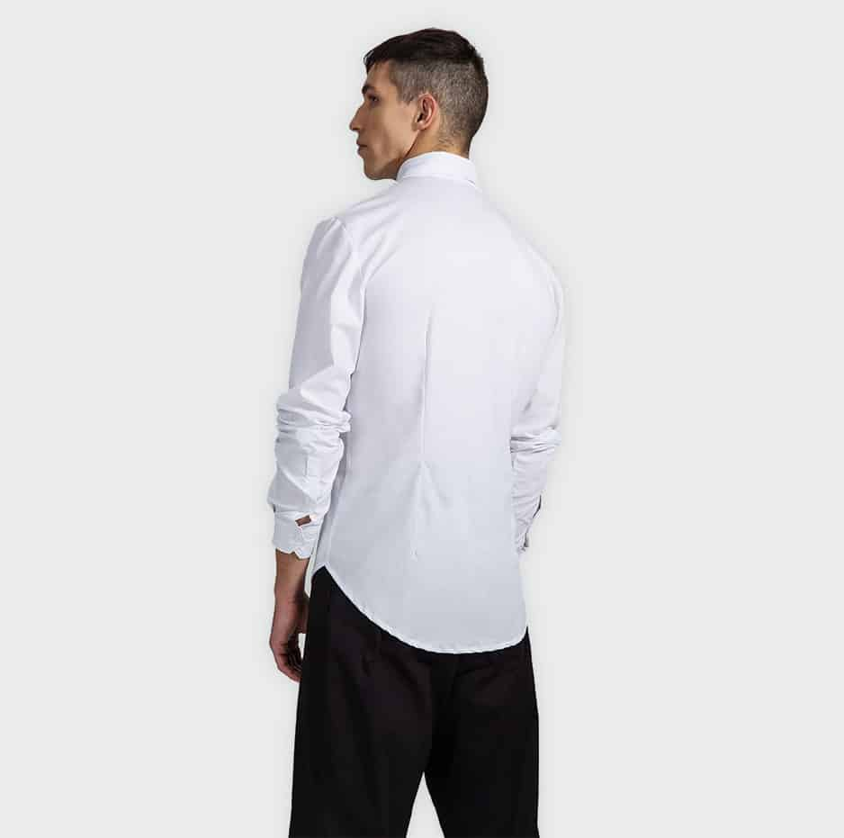 Shirt with pocket detail