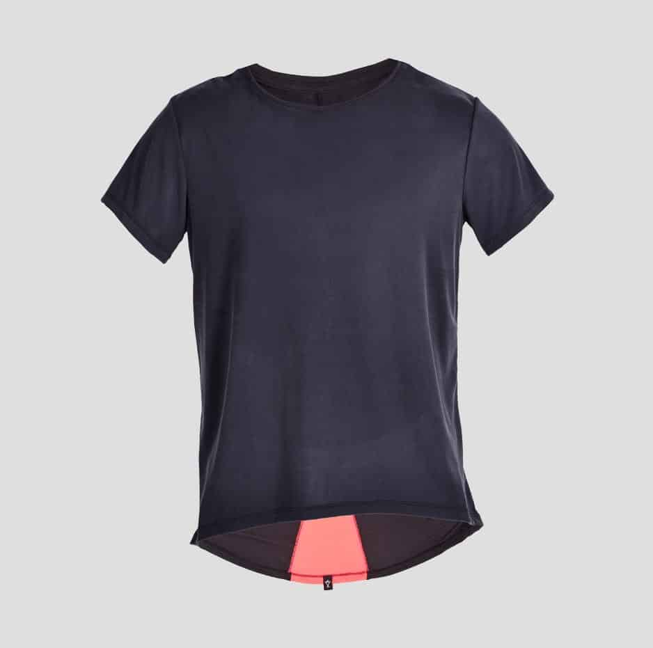 Double fabric t-shirt