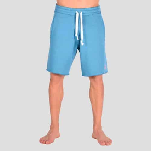 Lake blue shorts with P/COC embroidery
