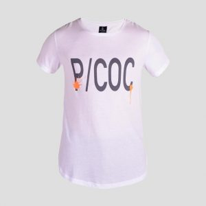 T-shirt with P/COC logo in front