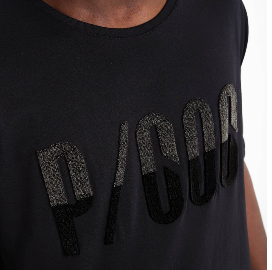 Back t-shirt with fluffy embroidery_zoom