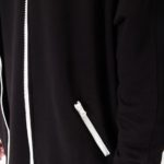 Black bomber jacket_zoom