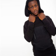 Black sweater with contrasting hood_thumbnail