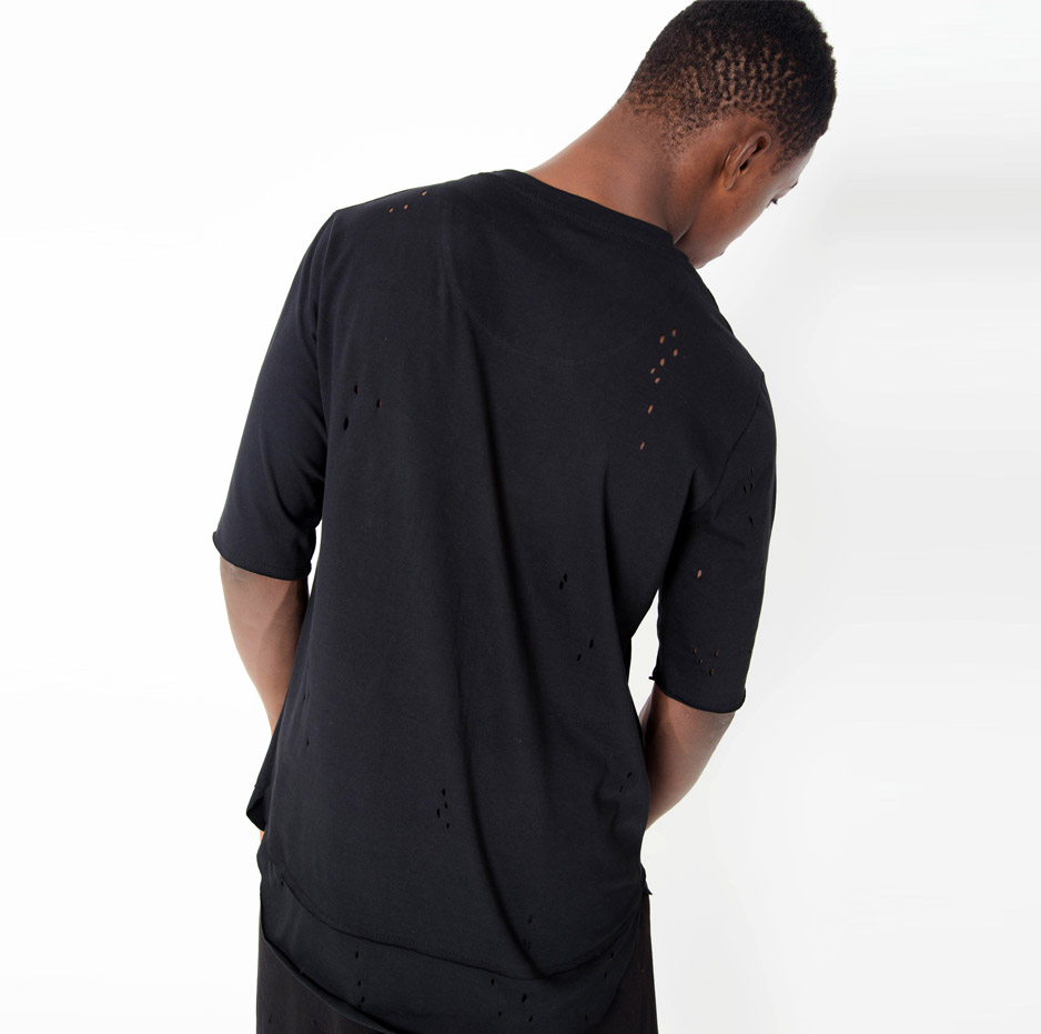 Black t-shirt with lazer cuts_back_thumbnail