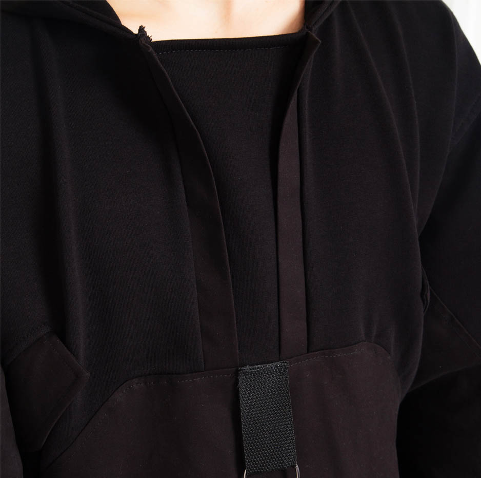 Double fabric hoodie_zoom2