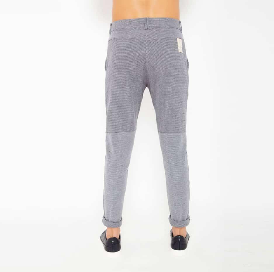 Grey zakar pants_back