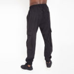 Stripped jogging trousers_back