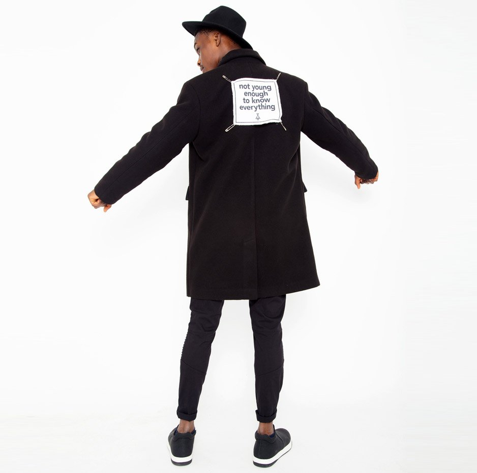 Black overcoat_back