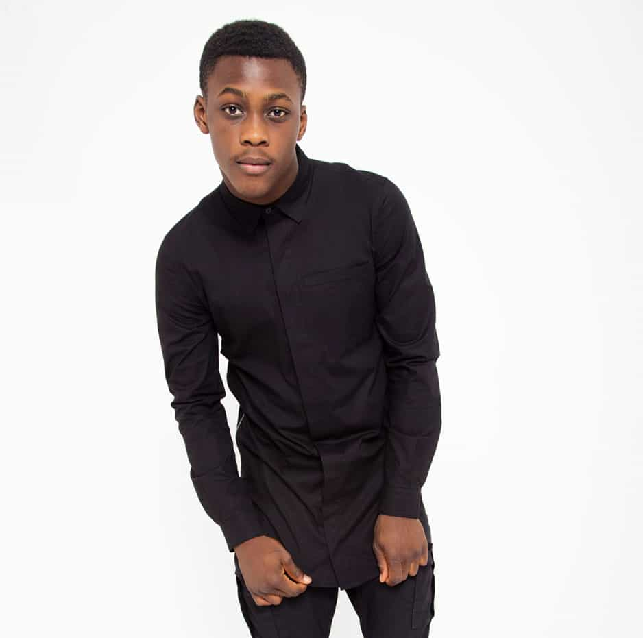 Black shirt with side zip_thumbnail