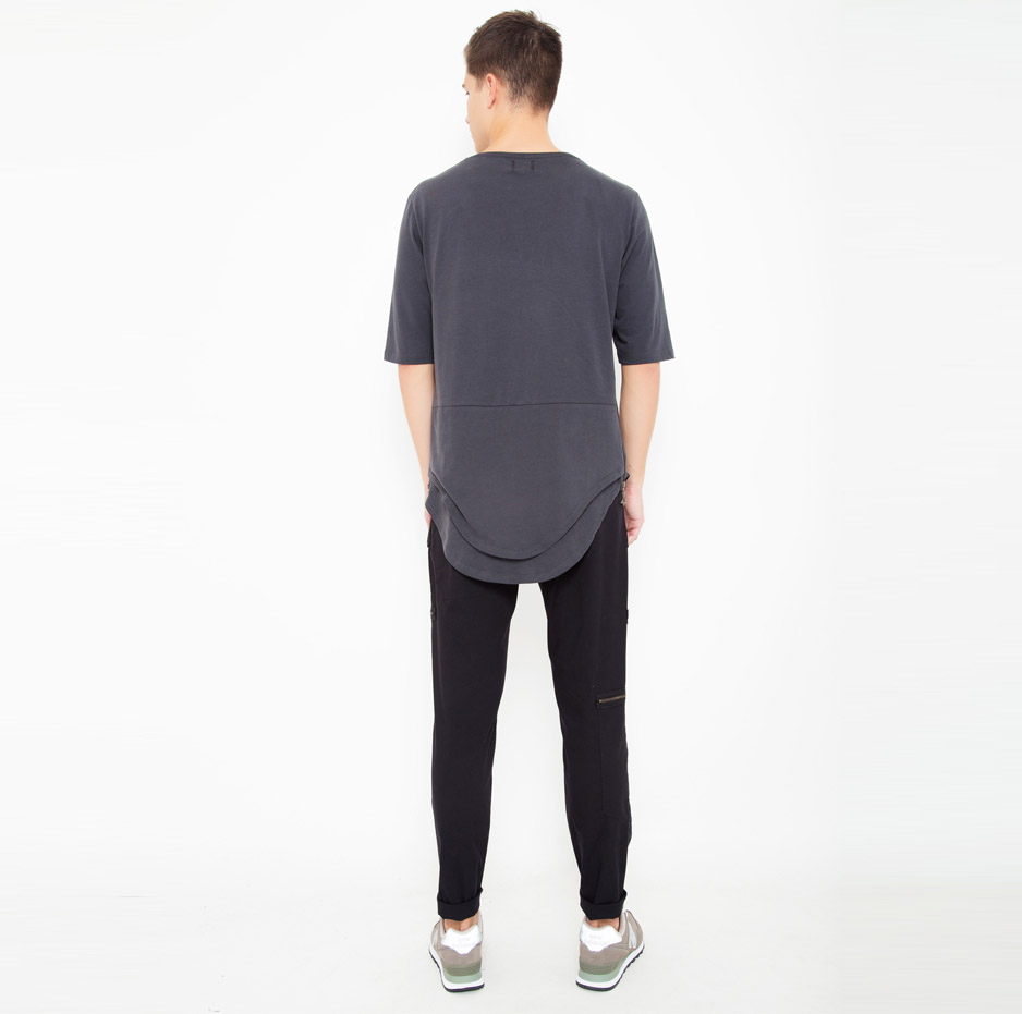 Black trousers with pockets_back_total