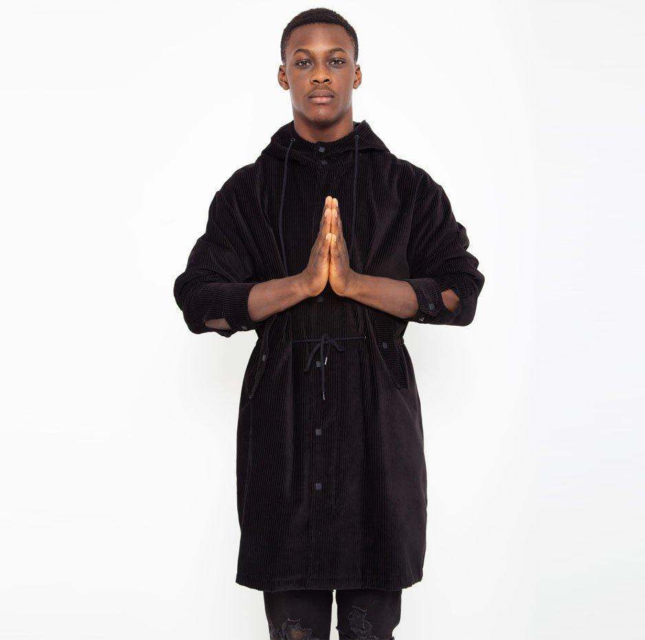 Corduroy coat_front
