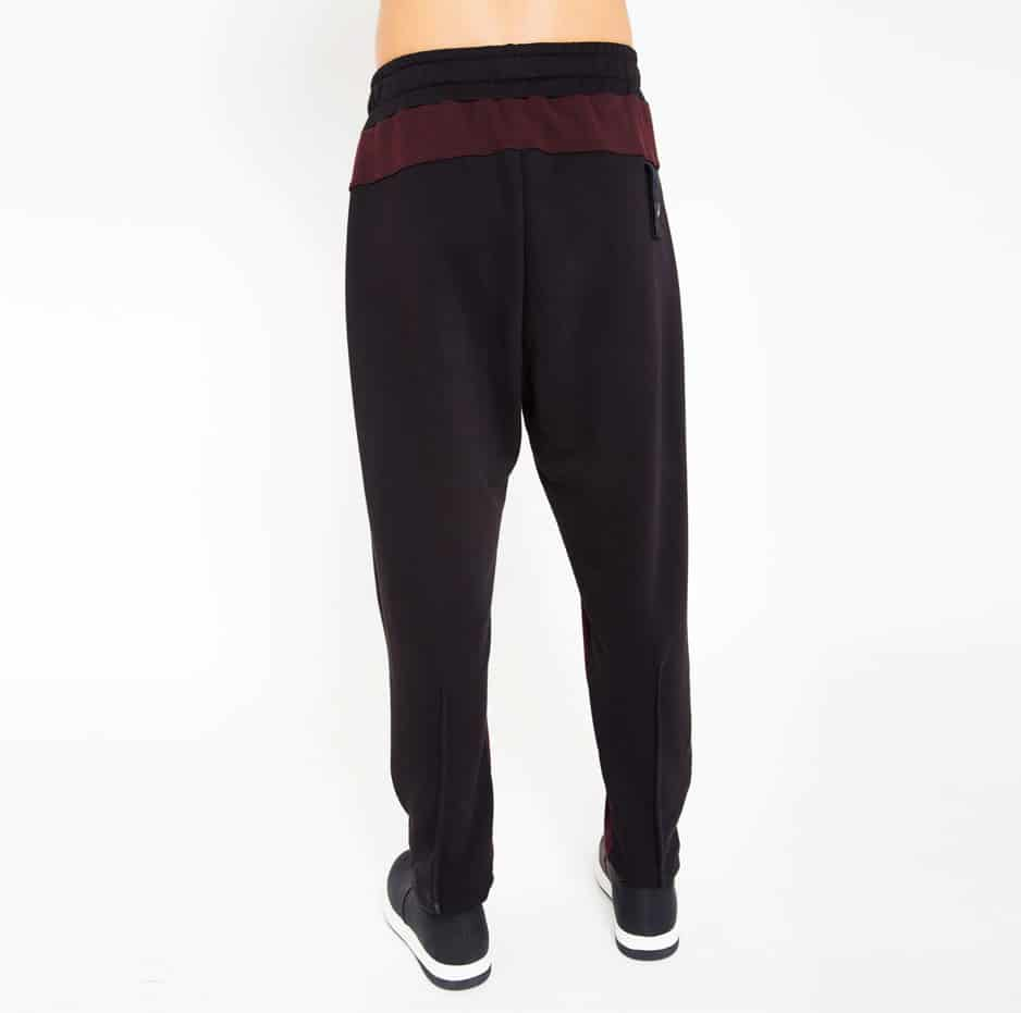 Double fabric sporty trousers_back