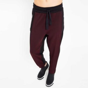 Double fabric sporty trousers_front