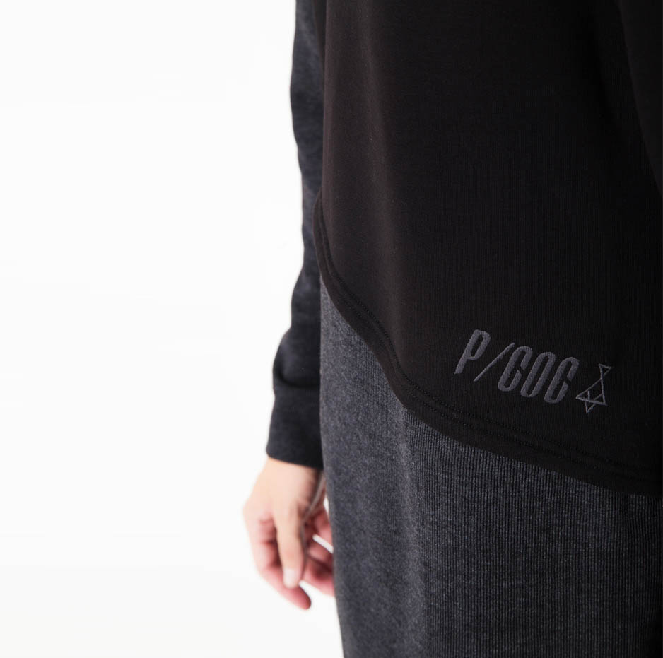 Hoodie with double fabric_zoom