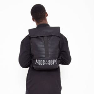 Rolltop backpack with PCOC printing