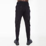 Sporty trousers with belt_back