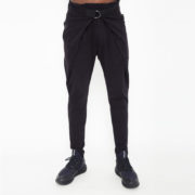 Sporty trousers with belt_thumb