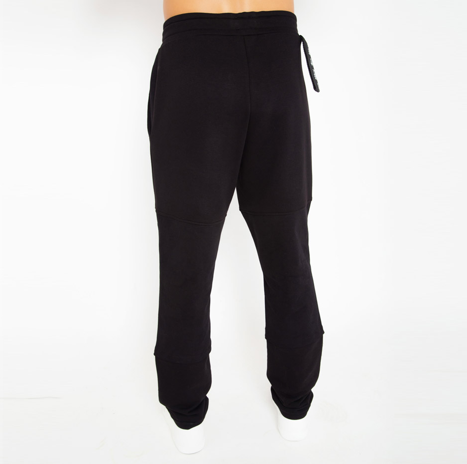 Sporty trousers with double fabric_back