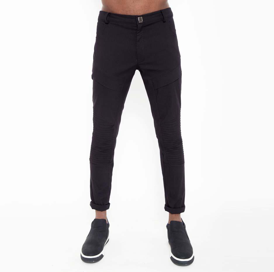 Black nervir pants_front