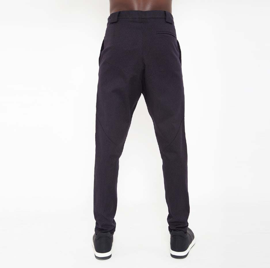 Black zakar trousers_back