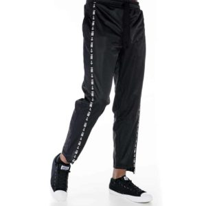 Sporty trousers with P/COC tape on the side