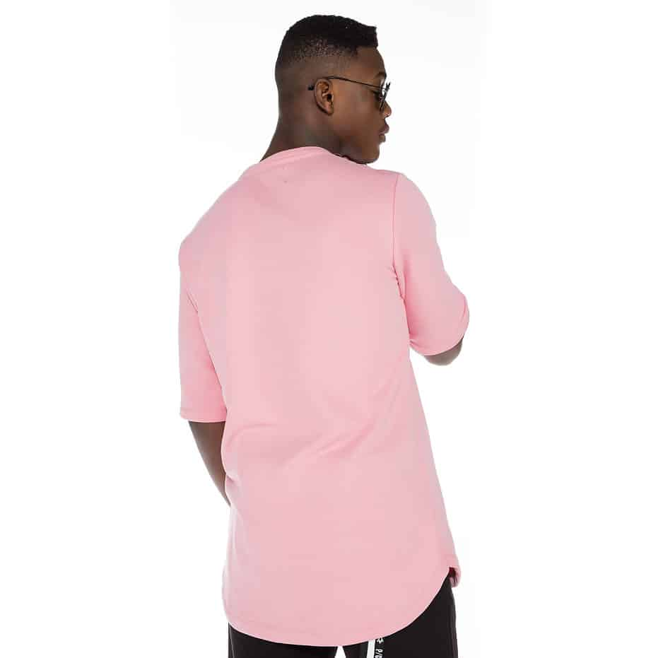 Pink spring hoodie with P/COC logo in front