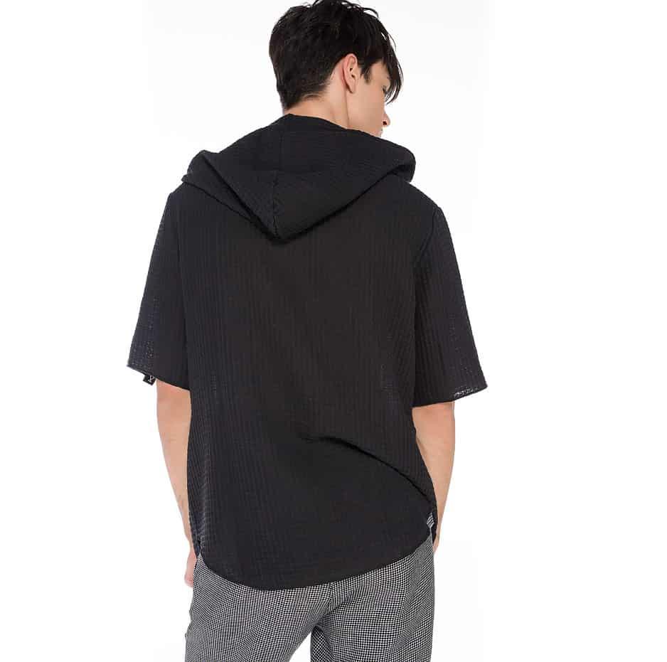 Honeycomb spring hoodie