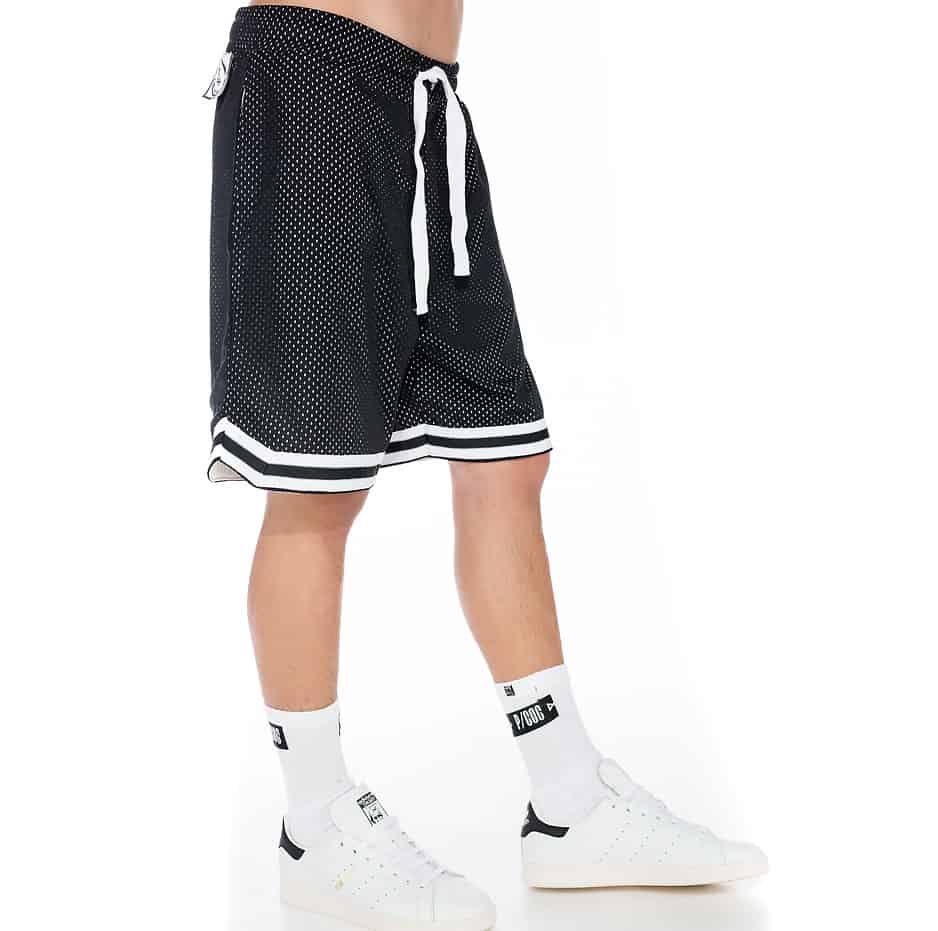Basketball shorts with liner coolmax mesh fabric