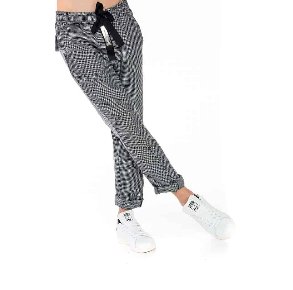 Zakar pants with plaid pattern