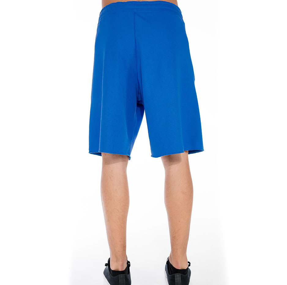 Sporty shorts with fluffy P/COC logo on the side