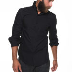 Black shirt with pocket