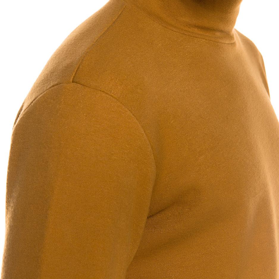 Camel knitted turtleneck