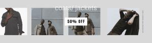 Coats & Jackets -50%