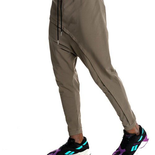 Khaki P/COC baggy trousers