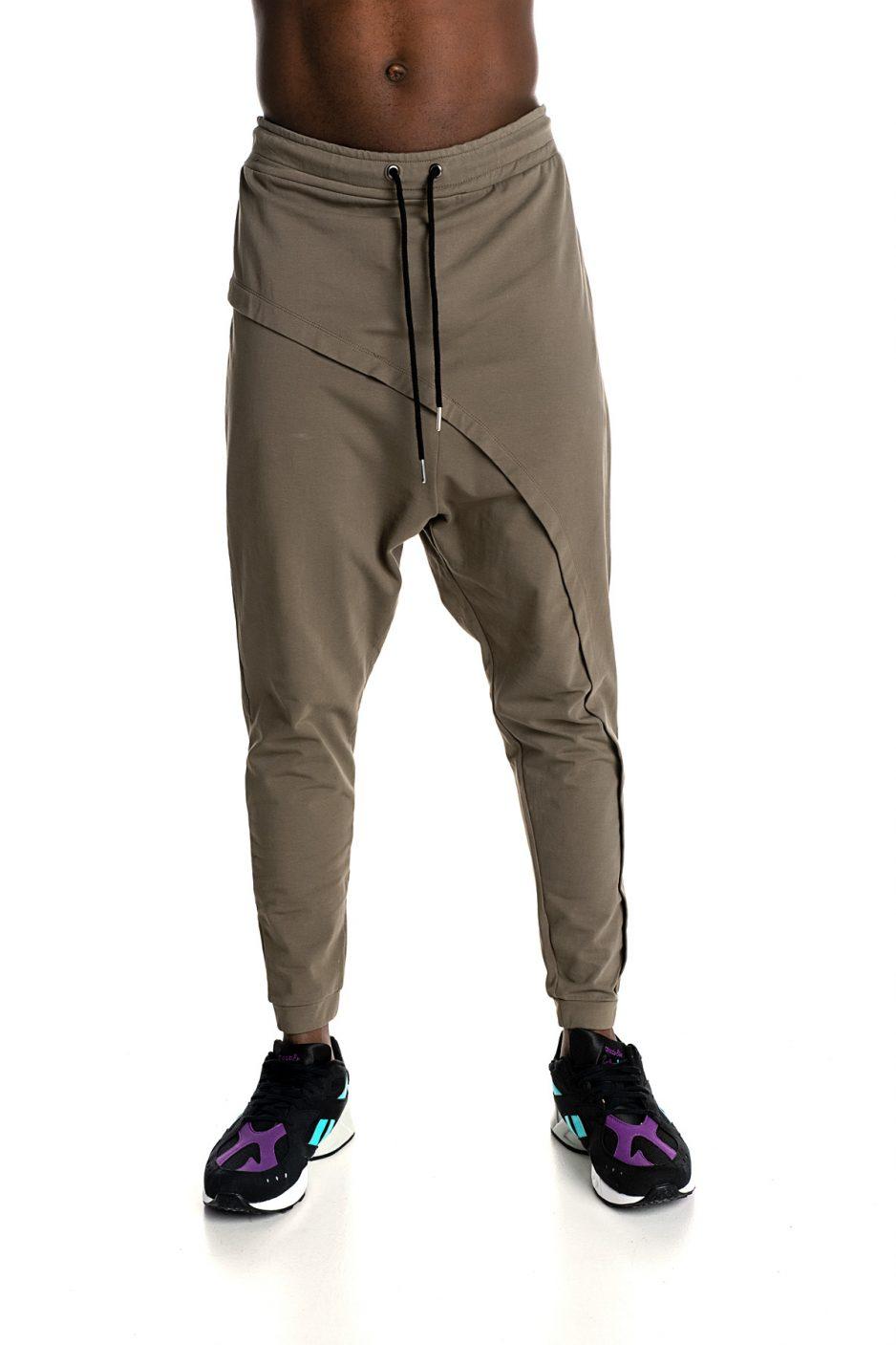 Khaki P/COC baggy trousers
