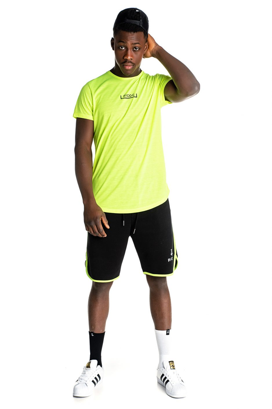 Πράσινο fluo P/COC t-shirt