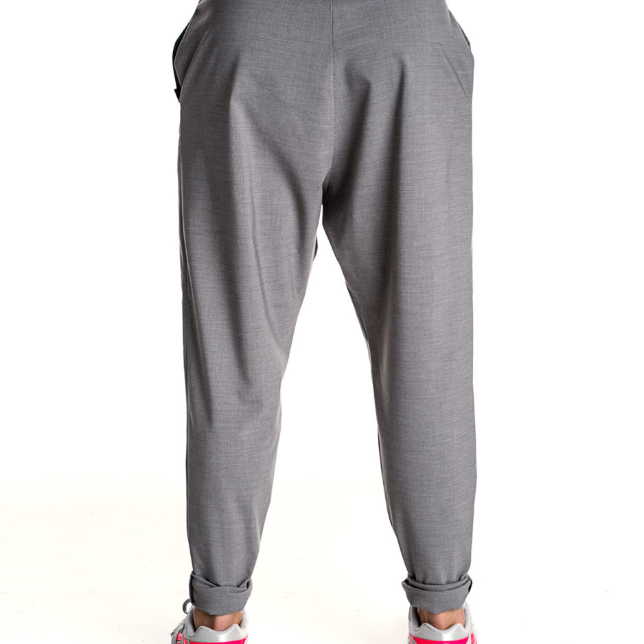 Γκρι βράκα παντελόνι P/COC
