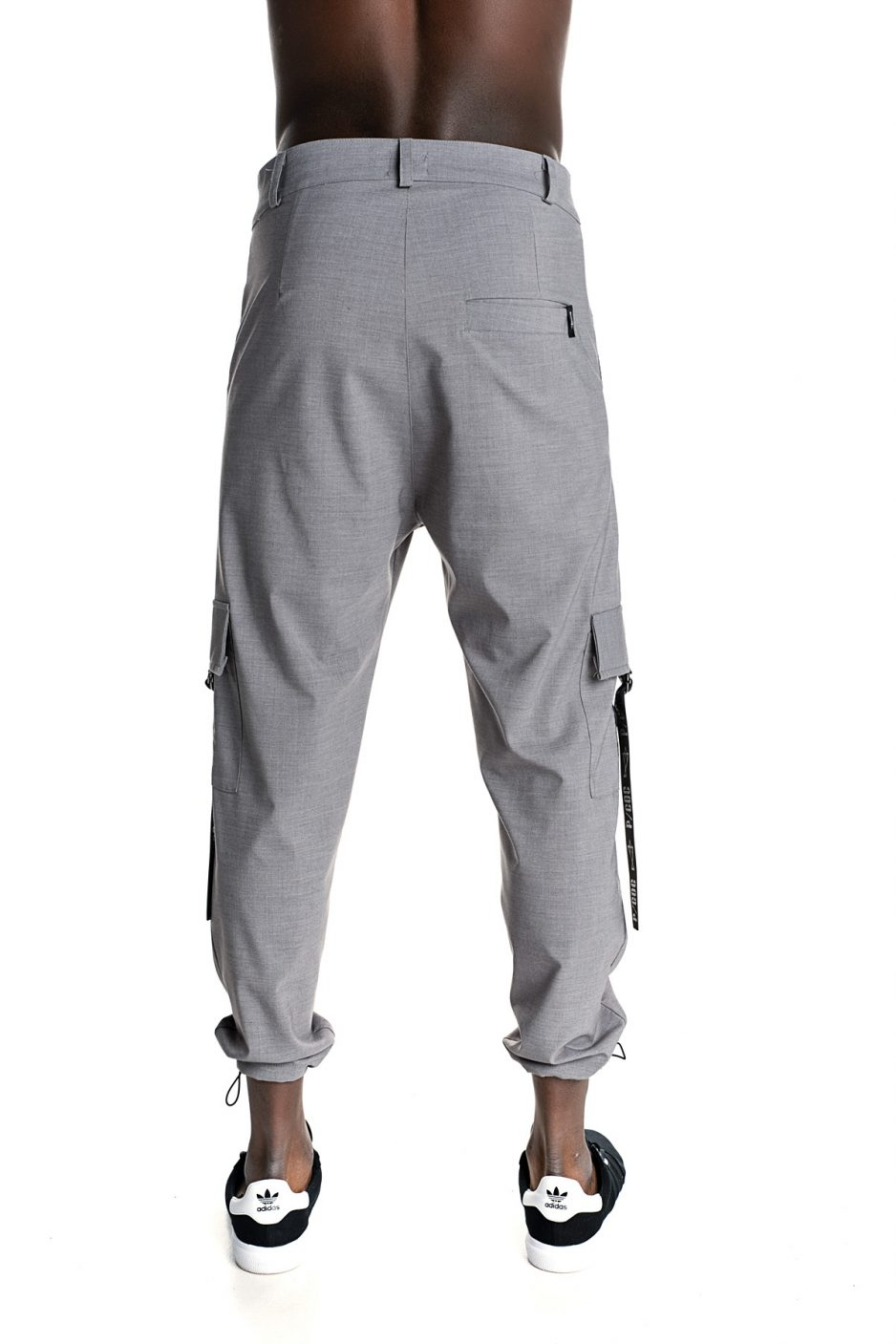 Grey P/COC cool trousers with pockets